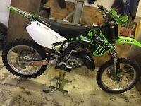Kawasaki Kx 125 not, gas gas, Honda, Ktm, Suzuki, sherco, beta