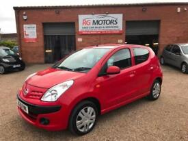 2010 Nissan Pixo 1.0 ( 67bhp ) N-TEC, Red, 5dr Hatch, **ANY PX WELCOME**