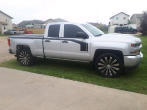 Tires and rims for gmc or Chevrolet