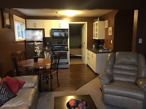 Fully Furnished 2 Bedroom Suite - available January 9, 2017