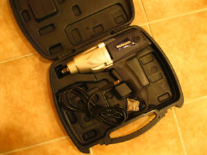 Mastercraft 7.5 A 1/2 drive electric impact wrench