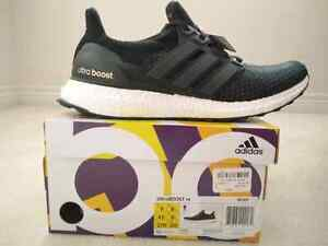 Adidas Ultra Boost 2.0 Core Black Size 9 DEADSTOCK