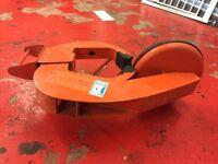 Caravan/trailer wheel clamp