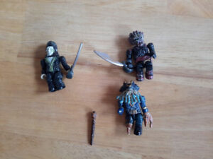 Mega Bloks 3 figurines Pirates des Caraïbes Dead Man's Chest