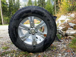 Studded Winter Tires 235 70/R16 on Aluminum Rims