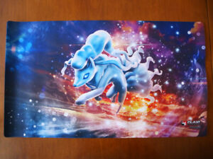Pokemon playmats and sleeves