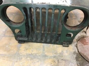 '52 Willeys Jeep Hood & Grill