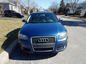 Audi A3 2007Fully Loaded, Leather. Panoramic, AC, Heated Seat