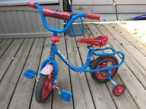 Toddler's Spider-man bike