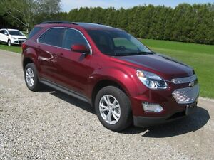 ONLY 13,000KMS 2016 Chevrolet Equinox LT AWD SUV, Crossover