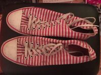 Converse Size 11 Red & White