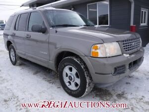 2002 FORD EXPLORER LIMITED 4D UTILITY 4WD