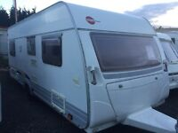 Burstner uk special lightweight with end Fixed bedroom hobby Tabbert lmc caravan