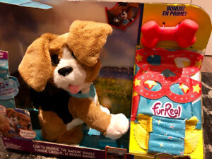 Fur Real Charlie Dog Toy in box
