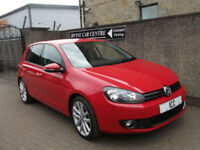"12 62 VOLKSWAGEN GOLF 2.0GT-TDi 5DR HEATED LEATHER 18"" ALLOYS FSH CRUISE"