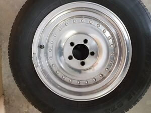 """15"""" x 7 5 on 4.5 bolt circle.  Fits Ford, Dodge and AMC"""