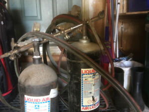 Oxy-acetylene torch and kit