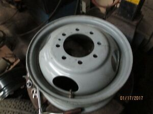 16 inch dually steel rims