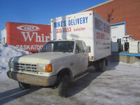 Appliance Delivery/hook-ups/removals Saskatoon