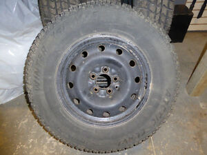 Artic Claw winter tires and rims set of 4 London Ontario image 1