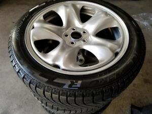 17 Inch Subaru BRZ / Impreza Winter tires Package - 5X100 lug