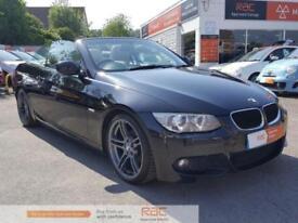 BMW 3 SERIES 320I M SPORT 2012 Petrol Manual in Black