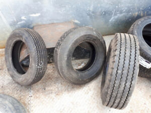 brand new trailer tires, ball, vehicle wiring kit and drawbars