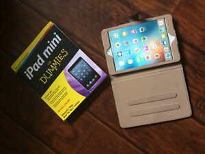 iPad Mini (1stGen) with Case and Book