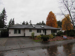 Brookswood Rancher FULLY RENOVATED