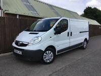 Vauxhall Vivaro LWB 2.0CDTi 115ps EU V 2900**1 OWNER FROM NEW**SUPERB.