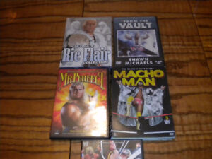 Lot of 5 WWE WWF dvd new & used World Wrestling Entertainment