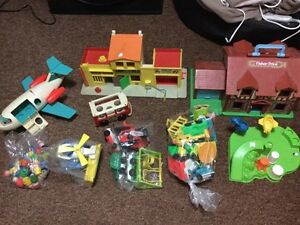 Large lot of Vintage Fisher Price Little People $60