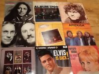 Variety of 60's and 70's LP's