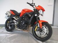 TRIUMPH STREET TRIPLE R 675 TRADE SALE THEFT RECOVERED LIGHT MARKS ONLY CAT N