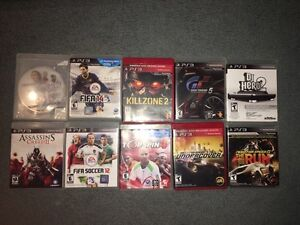 PS3 games negociable fifa nhl top spin dj hero need for speed