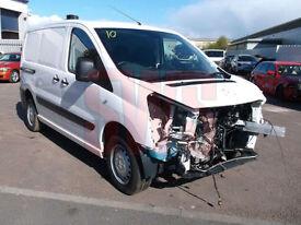 2014 Peugeot Expert 1.6HDi 90 Professional L1 H1 DAMAGED REPAIRABLE SALVAGE