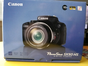 Brand new Canon camera
