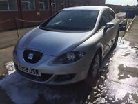 Bargain seat Leon 1.9 tdi full years MOT, good miles, service history