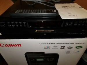 Sony 5CD Changer (CDP-CE375) with remote - works great