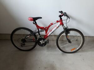 "Girl's 24"" Supercycle Burner 18 Speed Mountain Bike"