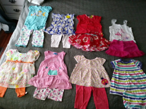 12 month-2T Lot Girls Clothes