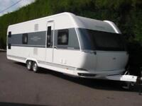 BRAND NEW 2019 HOBBY 720 KWFU,6 BERTH,FIXED BED,FIXED BUNK BEDS,SEPERATE SHOWER.