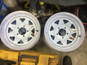 4x New Trailer Wheels (Rims)