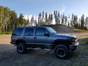 Lifted 1999 Chevrolet Tahoe