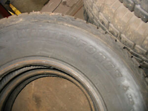 4 pneu hiver firestone winter force 205/75r14
