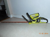 REDUCED!!! - RYOBI TRIMMER WITH 40 VOLT LITHIUM ION BATTERY!!!