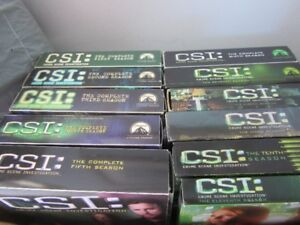 FS:  CSI tv shows on dvd