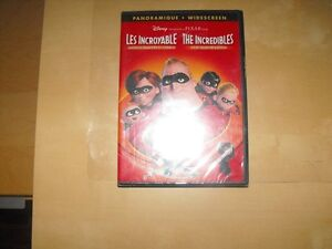 DVD Disney Les Incroyales édition 2 disques flambant neuf