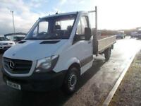 Mercedes-Benz Sprinter 3.5T Chassis Cab DIESEL MANUAL WHITE (2015)