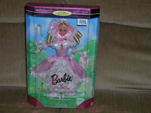 Princess Barbie Rapunzel and Little Bo Peep - First Edition /